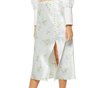NWT Topshop Midi Skirt